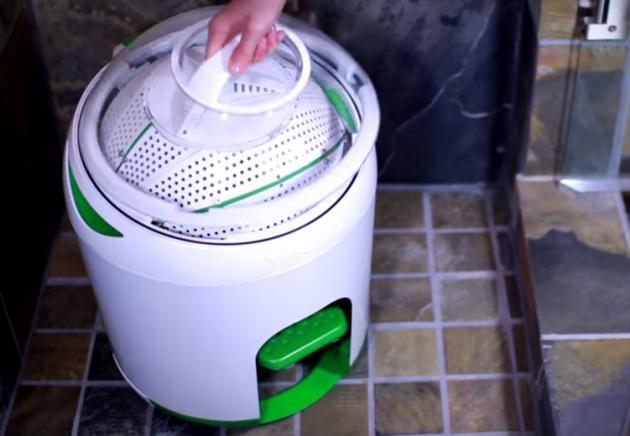Machine a laver revolutionnaire la terre du futur - Machine a laver du futur ...
