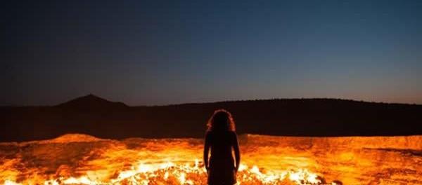 Les portes de l enfer se trouvent au turkm nistan la terre du futur - Turkmenistan porte de l enfer ...
