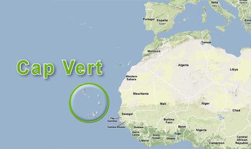 cap vert geographie