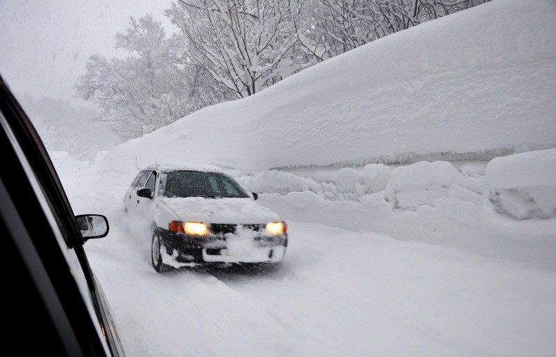 neige-voiture