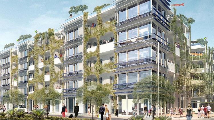 immeuble batiment energie positive la terre du futur