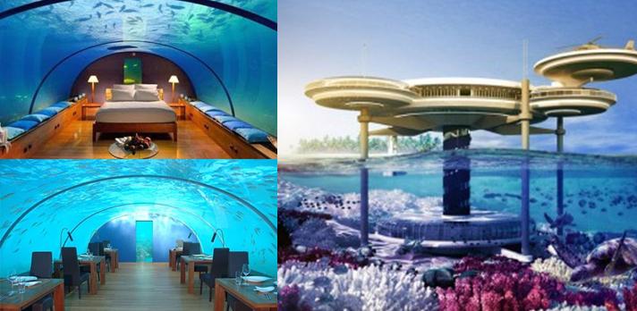 hotels sous marins la terre du futur